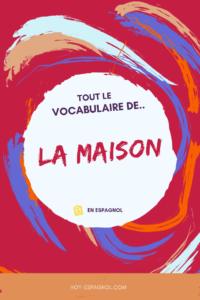 Le vocabulaire de la maison en espagnol