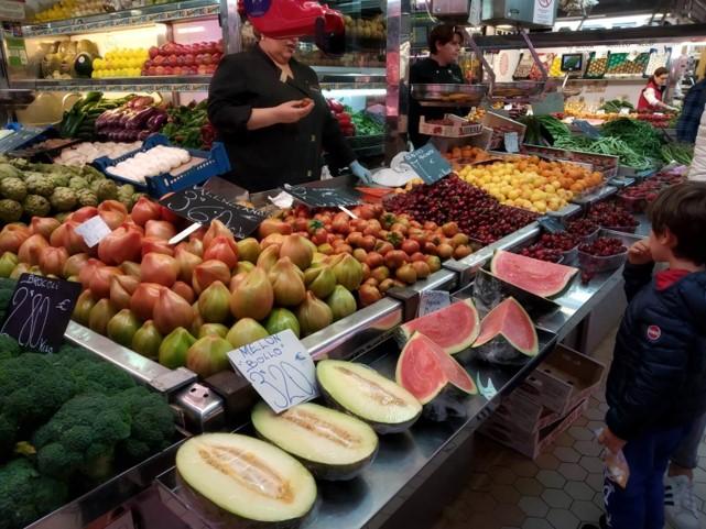 Fruits et légumes en Espagne