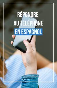 Répondre au téléphone en espagnol