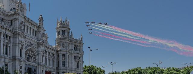 Défilé fête nationale Espagne