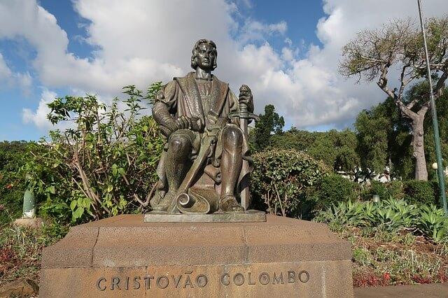 Statue de Christophe Colomb à Madère
