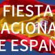 Fête Nationale d'Espagne : 12 octobre