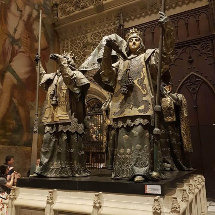 Tombeau de Christophe Colomb à Séville