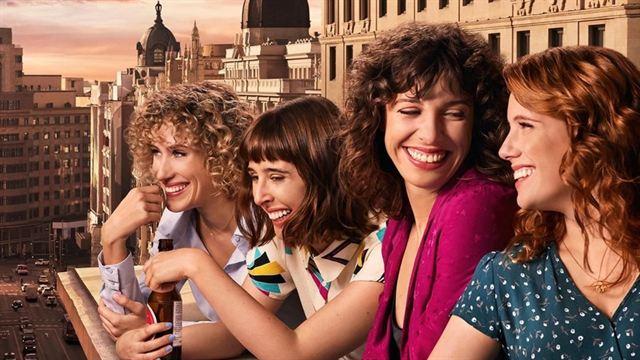 Les 4 actrices de la série espagnole Valeria