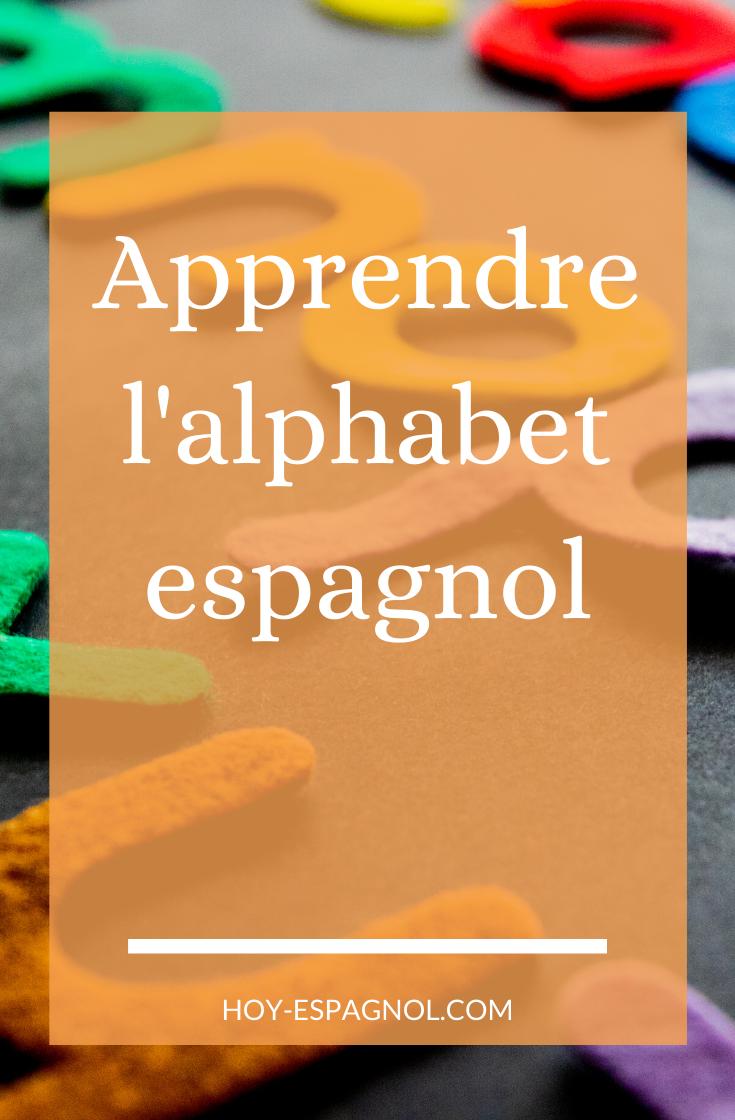 L'alphabet espagnol