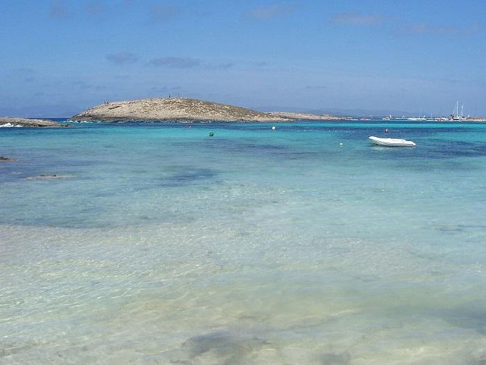 Plage Ses Illetes de Formentera